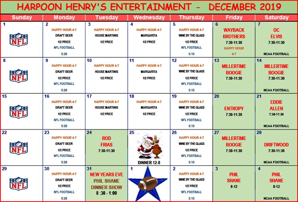 hh-ENTERTAINMENT-2019-dec-Calendar
