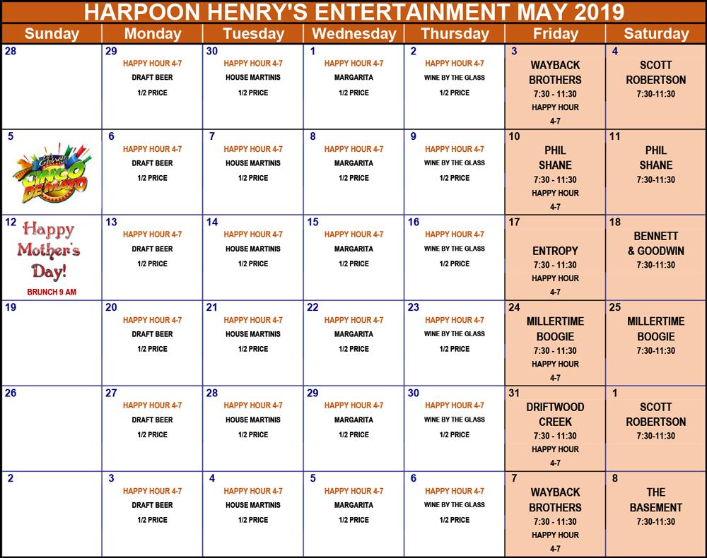 ENTERTAINMENT-2019-Calendar-may
